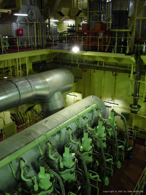 Steam Ship Engine Room: Tales Of A Modern Mariner --> Pictures From
